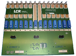 LCR Embedded Systems' AdvancedTCA Backplanes