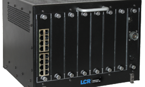 LS-9101 Ancillary Card Cage for Rail Applications