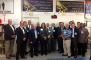 US Navy and Raytheon Company Visit and Tour Norristown-Based High-Tech Electronics Design and Manufacturing Company LCR Embedded Systems