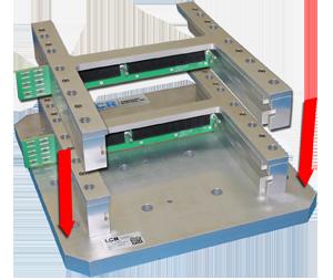 Stackable Single Slot Test Fixture: VME, VPX, CompactPCI, Custom