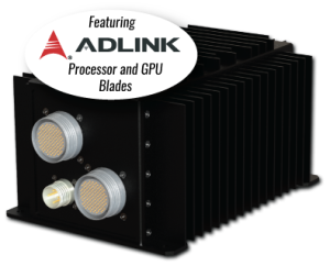 Featuring ADLINK Processor and GPU Blades, Perfect for data-intensive sensor applications