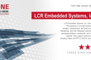 LCR Embedded Systems Honored with Three-Star Supplier Award from Raytheon Integrated Defense Systems