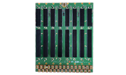 6U VPX, SOSA-aligned slot profiles, 40Gbps, VITA 66 and 67 optical and RF support. Power and ground development versions