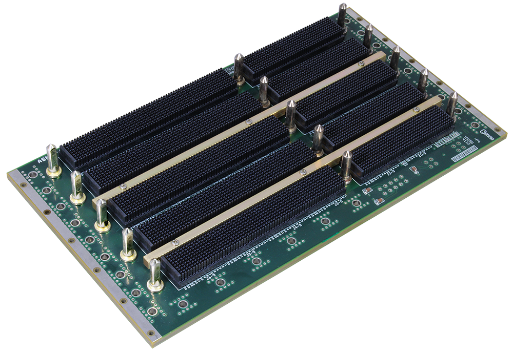 LCR 6U VPX backplane