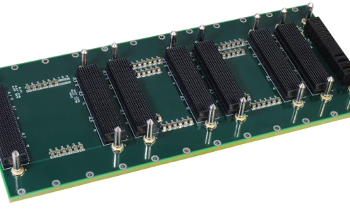 LCR 3U VPX backplane
