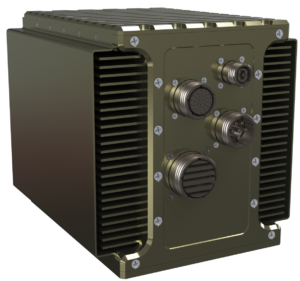 LCR AoC-550 Air over conduction cooled VPX chassis