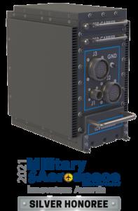 LCR AoC3U-412 4 slot VPX packaging Military & Aerospace Electronics Innovators Award Silver Honoree 2021