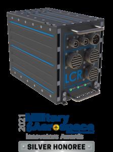 LCR AoC3U-410 4 slot chassis Military & Aerospace Electronics Innovators Award Silver Honoree 2021