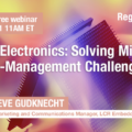 LCR Cooling Electronics webinar May 25, 2021