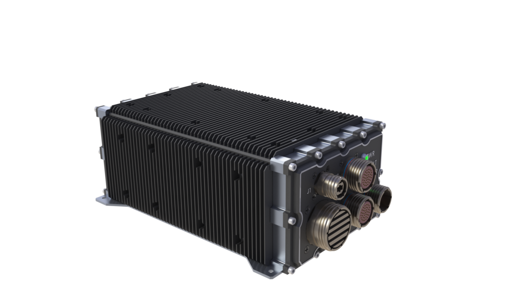 LCR AoC3U-200 2 slot VPX chassis