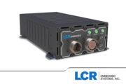 LCR AoC3U-100 single slot VPX chassis