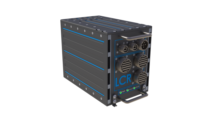 LCR AoC3U-410 air over conduction cooled VPX chassis