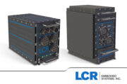 LCR AoC3U-400 series of ATR chassis for SOSA Aligned and VPX Module Payloads