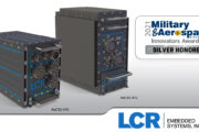 LCR AoC 400 Series rugged ATR chassis wins Military & Aerospace Electronics Innovators Award